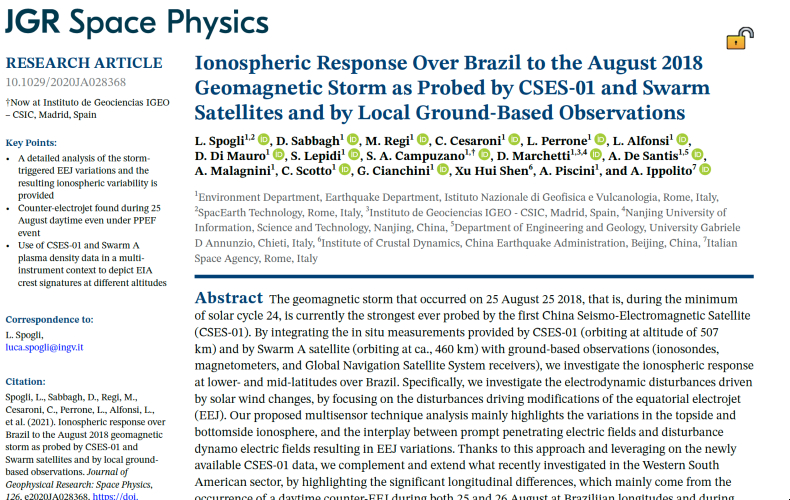 Journal of Geophysical Research: Space Physics